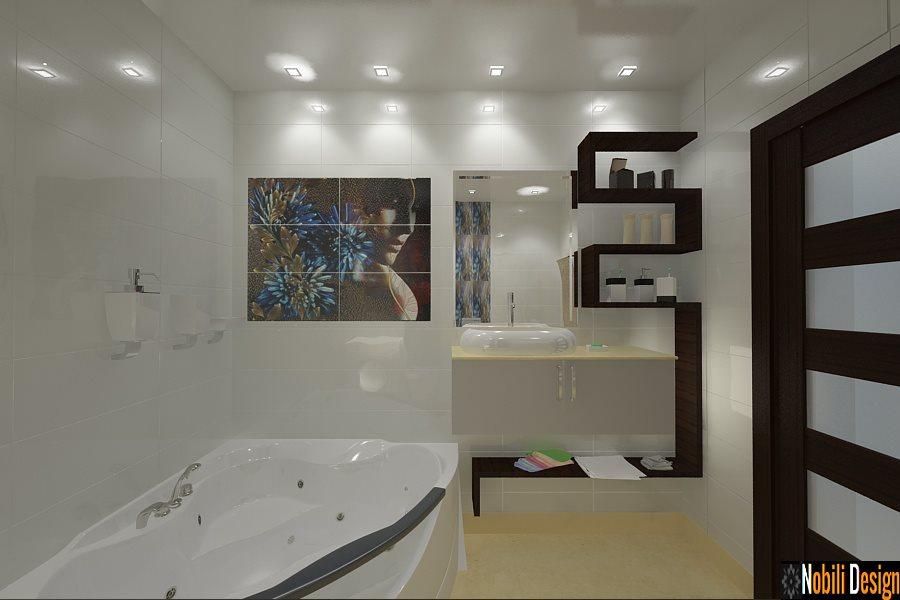 design interior baie apartament bucuresti pret