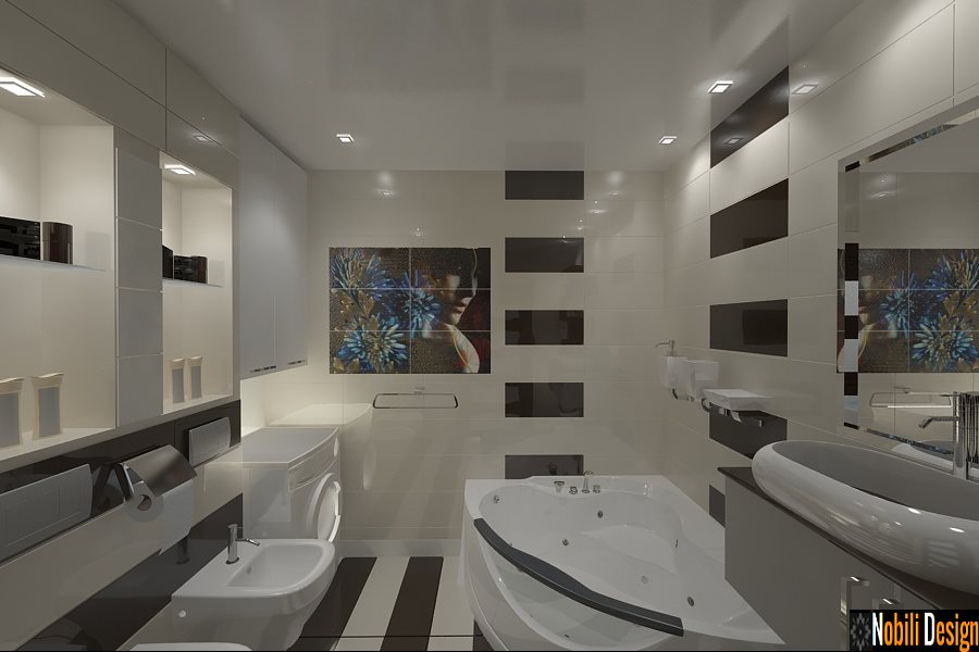 Design - interior - baie - bucuresti
