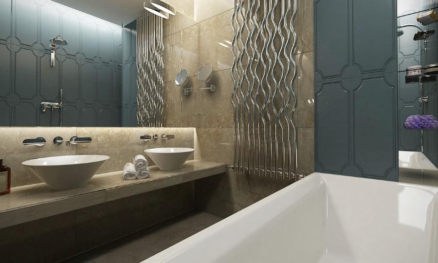 Design interior baie casa moderna - bucuresti.