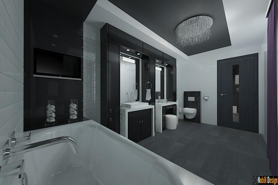 Design - interior - baie - casa - moderna - in - bucuresti| Amenajari - interioare - bai - case - cu - etaj - sector 2 - Bucuresti.
