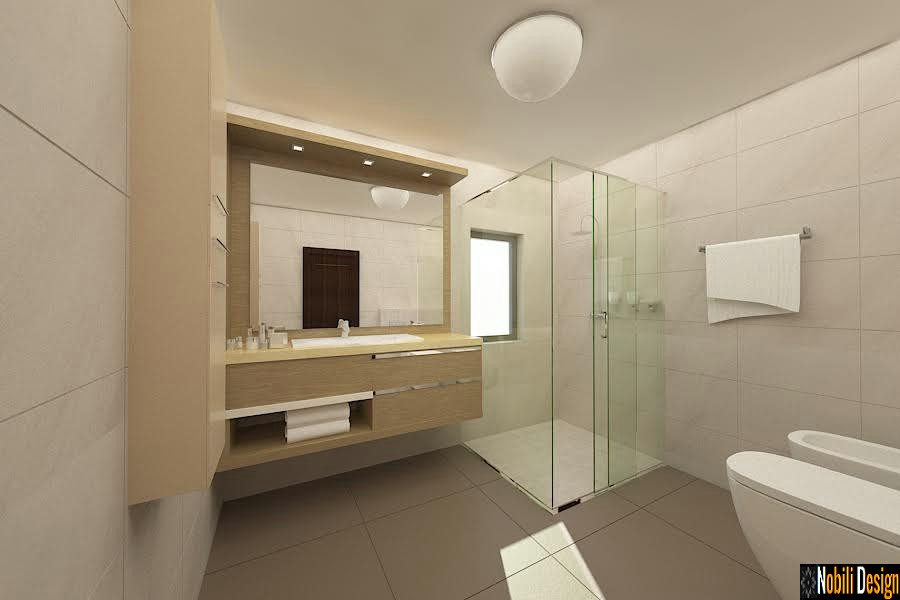 design interior baie casa sinaia