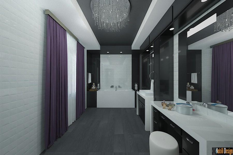 Design - interior - baie - vila - moderna - in - bucuresti| Amenajare - interioara - baie - casa - de - lux - in - Bucuresti - sector 6.
