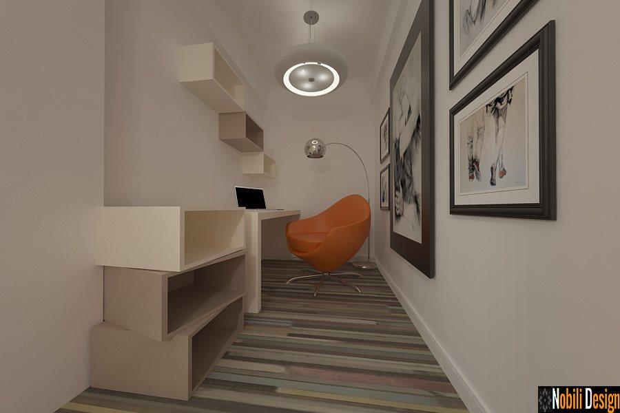 design interior birou apartament bucuresti