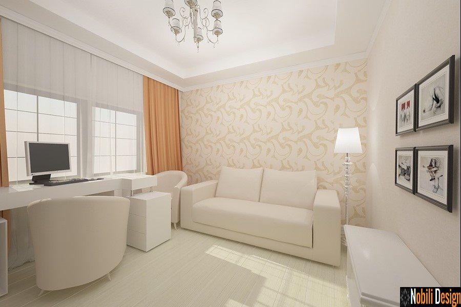 Design - interior - birou - vila - Bucuresti