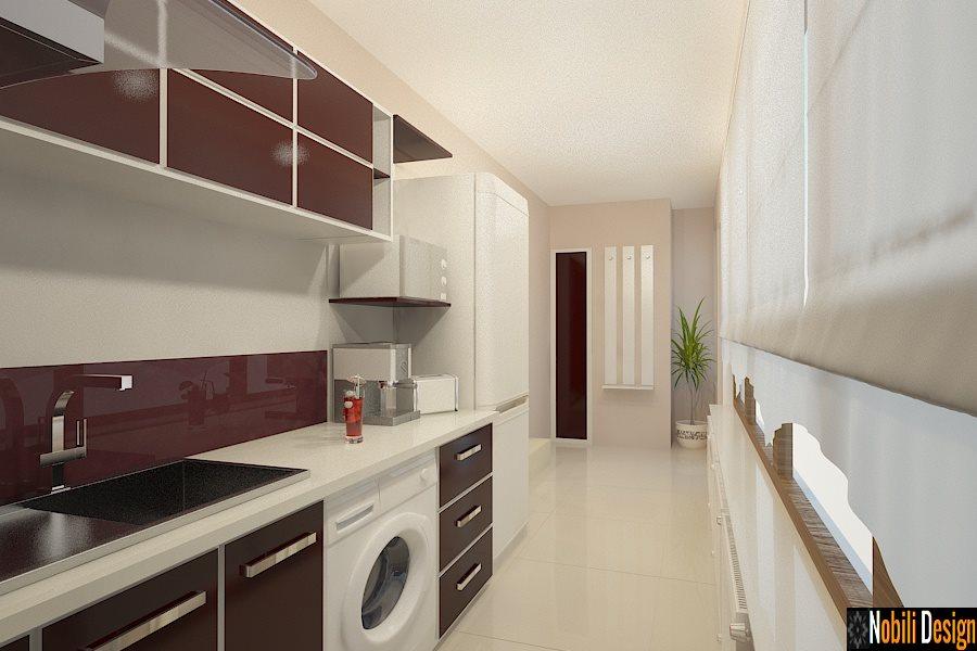 design interior bucatarie apartament modern BUCURESTI