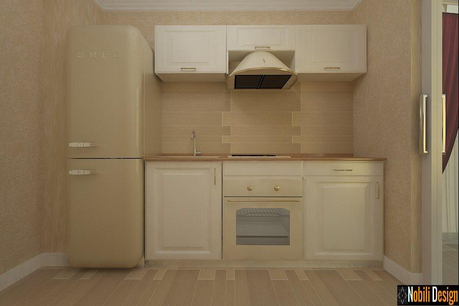 Design - interior - bucatarie - apartament - stil - clasic