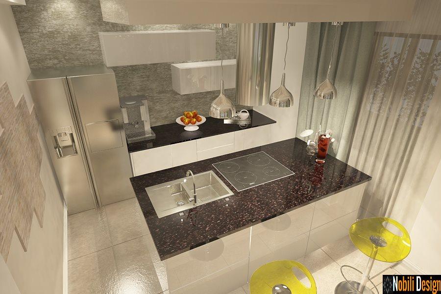 Design - interior - bucatarie - casa - moderna - Constanta
