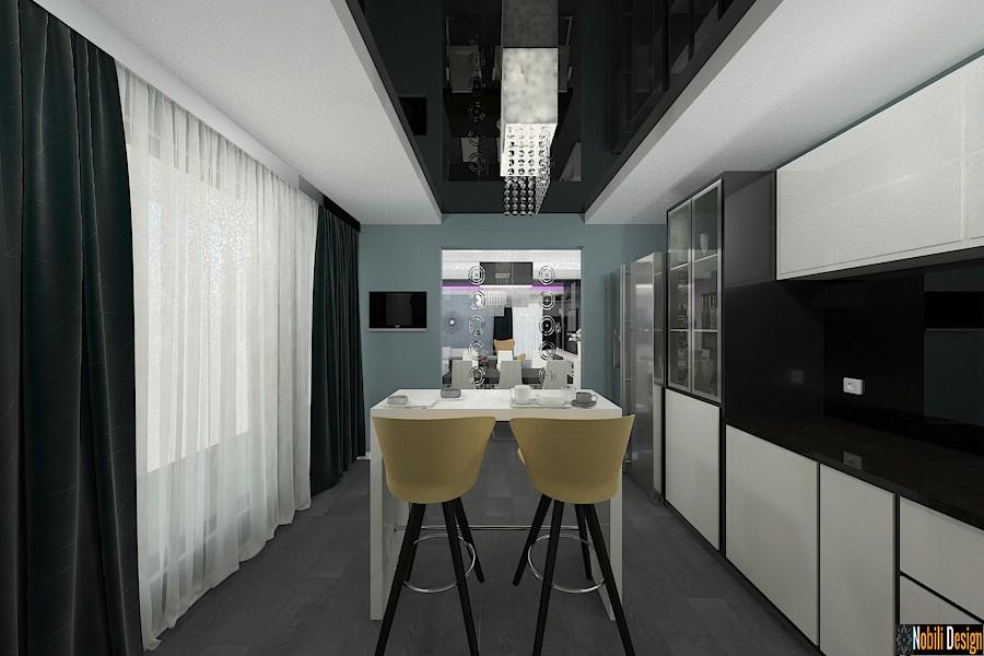 Design interior vila moderna in bucuresti for Design casa moderna