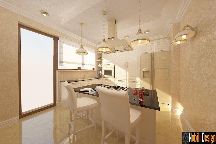 Design interior bucatarie mobila clasica - Bucuresti