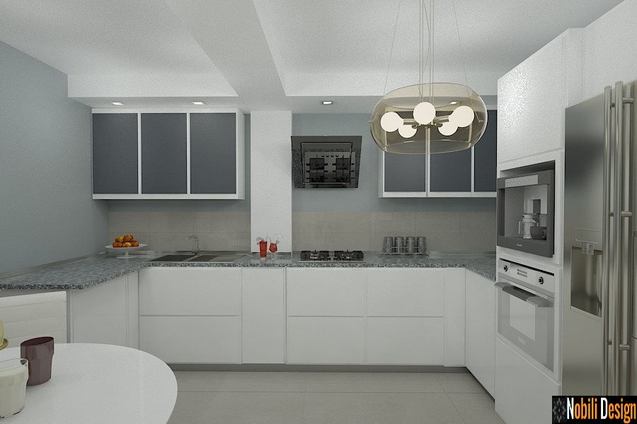 design interior bucatarie moderna bucuresti snagov