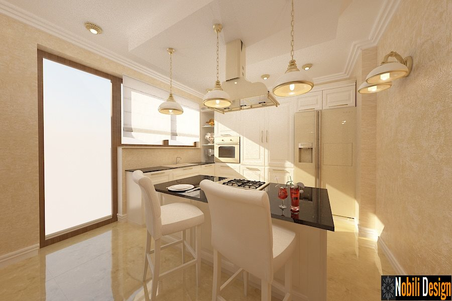 Design - interior - bucatarie - stil - clasic - Pitesti