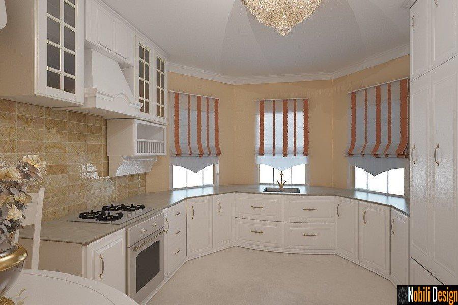 Design - interior - bucatarie - stil - clasic - casa - Constanta - mamaia