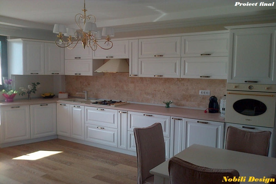 design interior bucatarie stil clasic poze