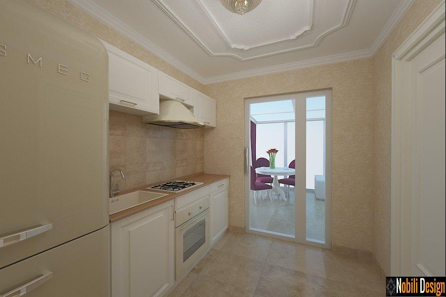 Design - interior - bucatarie - stil - clasic