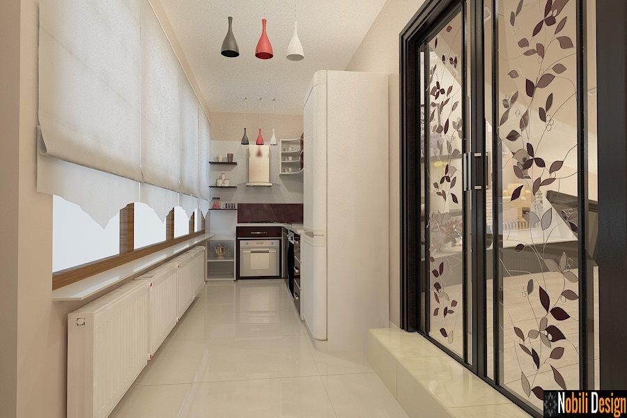 design interior bucatarie stil modern