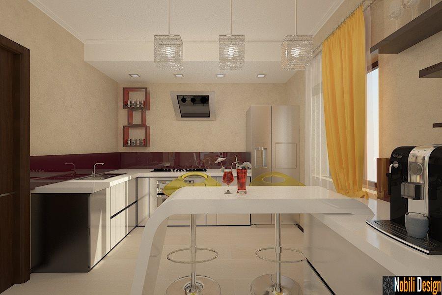 design, interior, bucatarie, vila, casa, moderna, brasov, pret