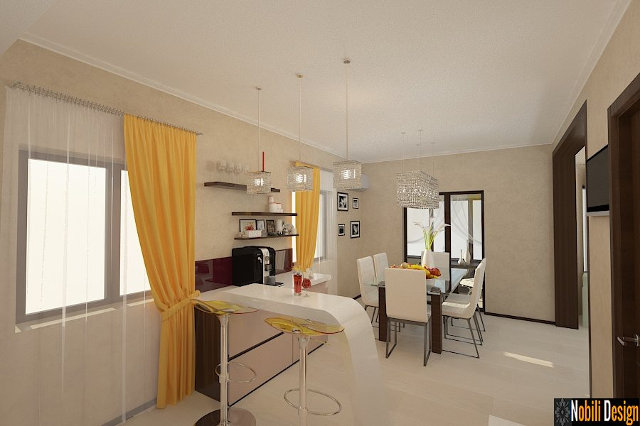 design, interior, bucatarie, vila, casa, moderna, Pitesti