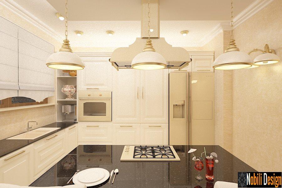 Design - interior - bucatarie - vila - clasica - Bucuresti - Pipera