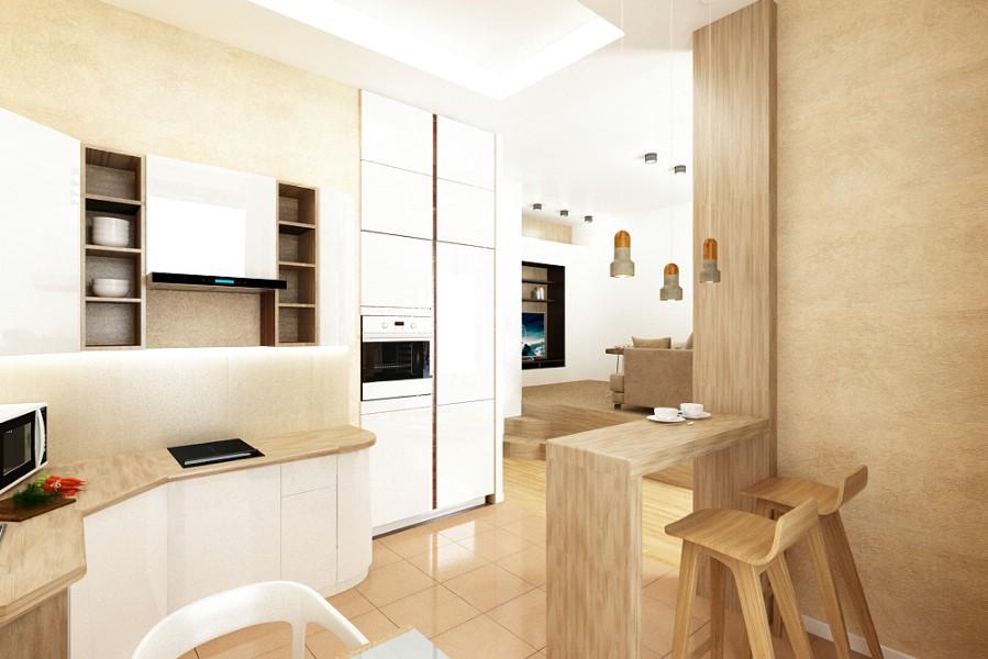 Design interior bucatarie - vila - moderna - brasov.