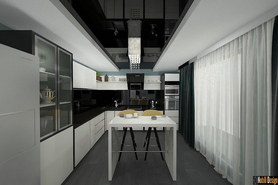Design - interior - bucatarie - vila - moderna - cu - etaj. Amenajare - interioara - casa - cu - 6 - camere - in - Bucuresti.