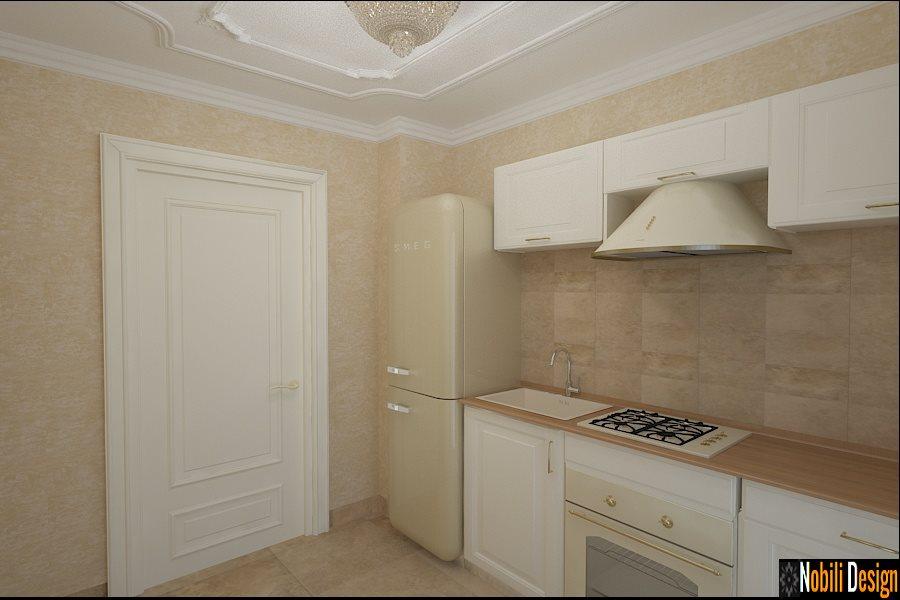Design - interior - bucuatarie - garsoniera - Bucuresti