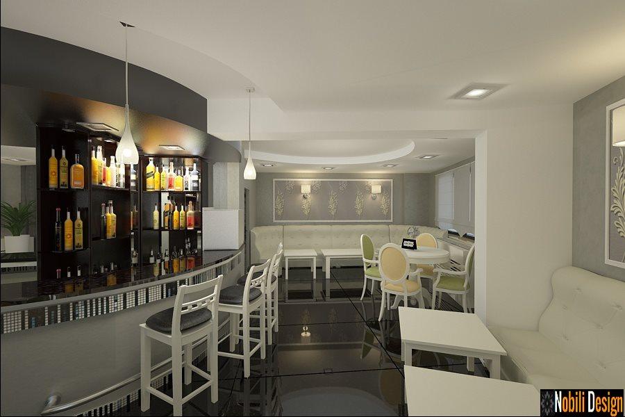 Design - interior - cafenea - bar - Galati