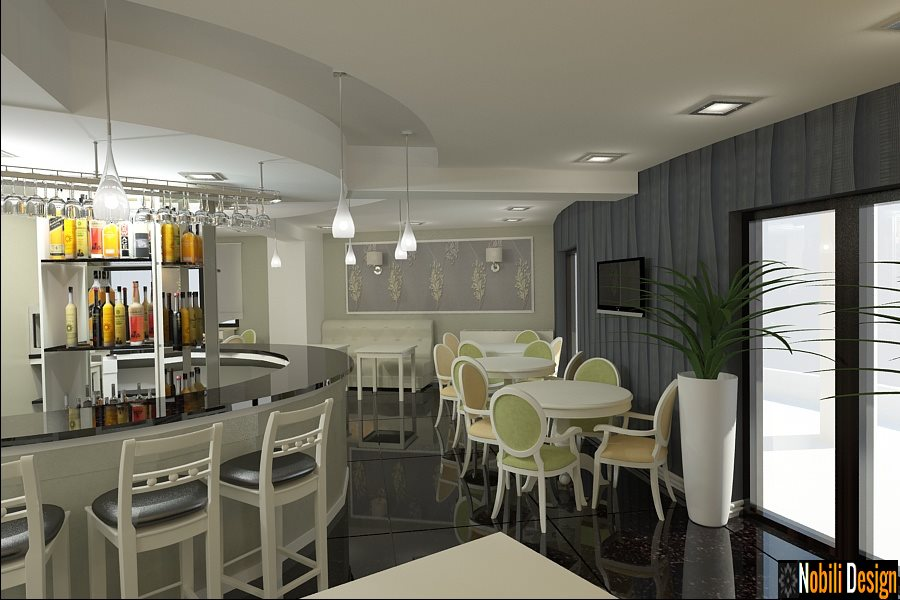 Design - interior - cafenea - bar - Constanta