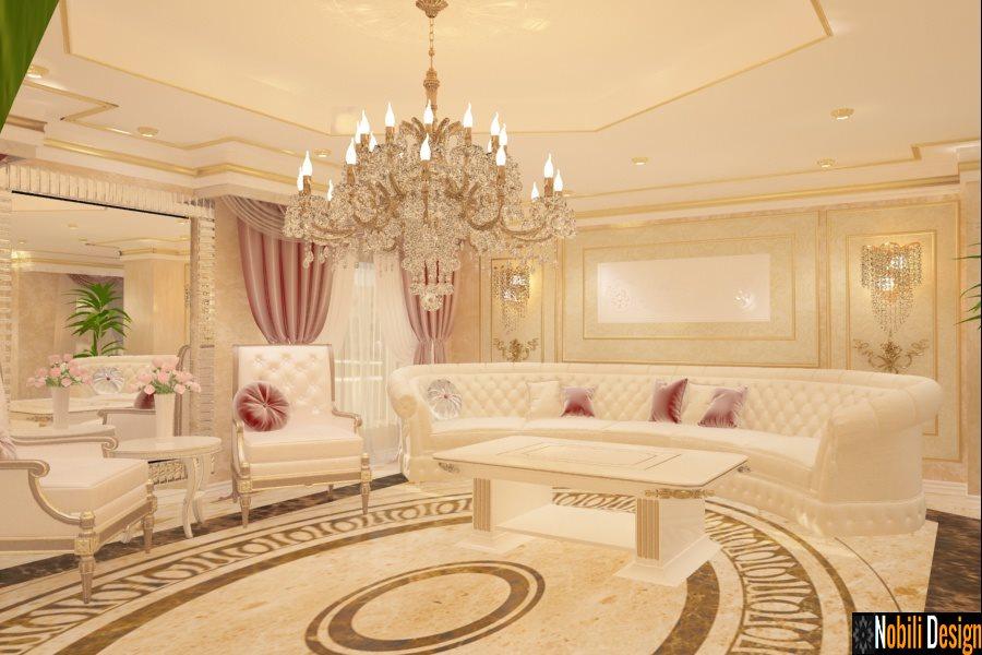 Design - interior - candelabru - living - clasic
