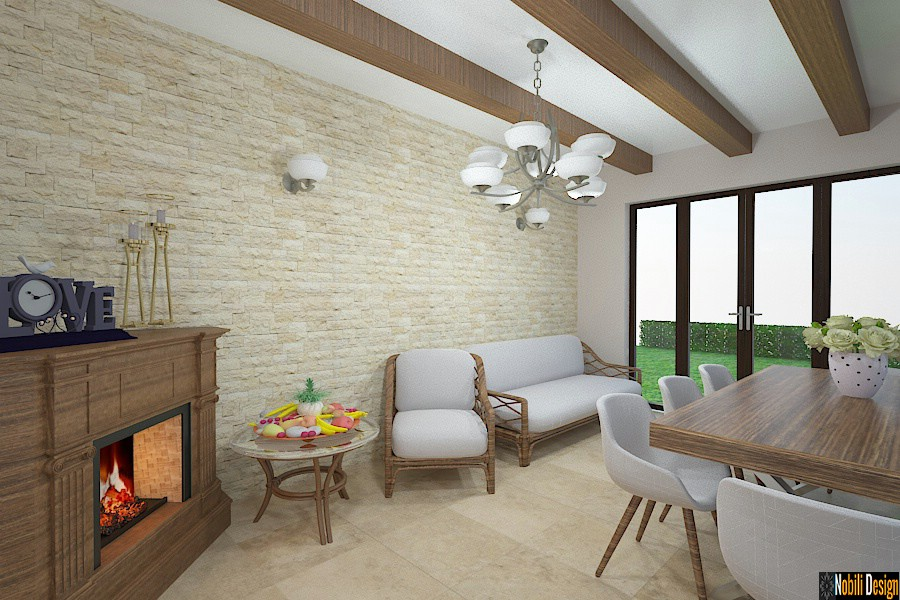 Design - interior - casa - de - vacanta - Brasov.