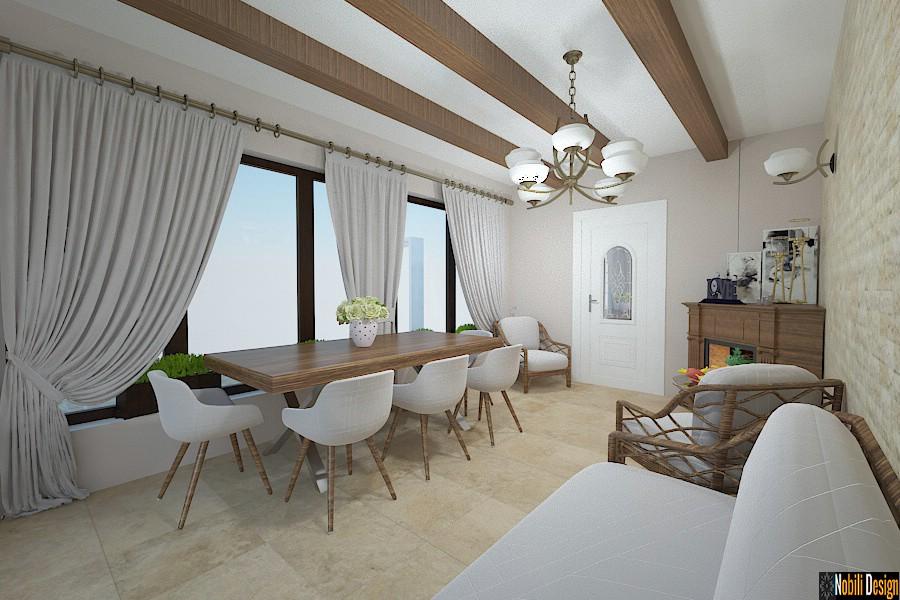 Design interior casa de vacanta Prahova.
