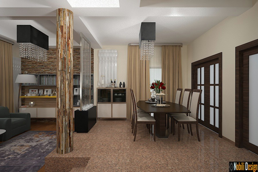 Design interior casa moderna cu etaj in Bucuresti