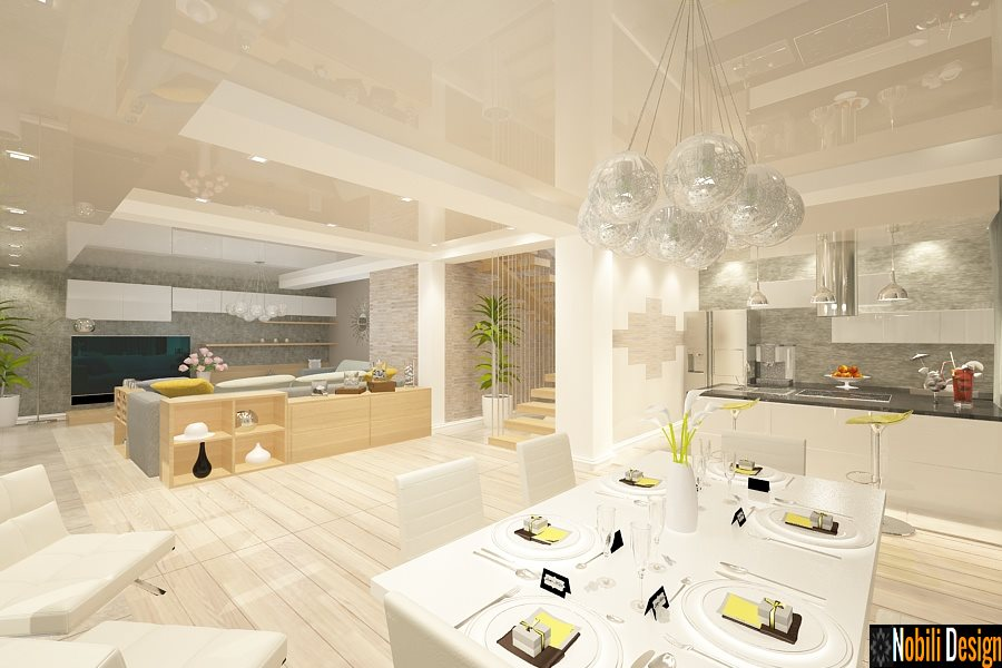 Design interior casa moderna nobili interior design for Design casa moderna