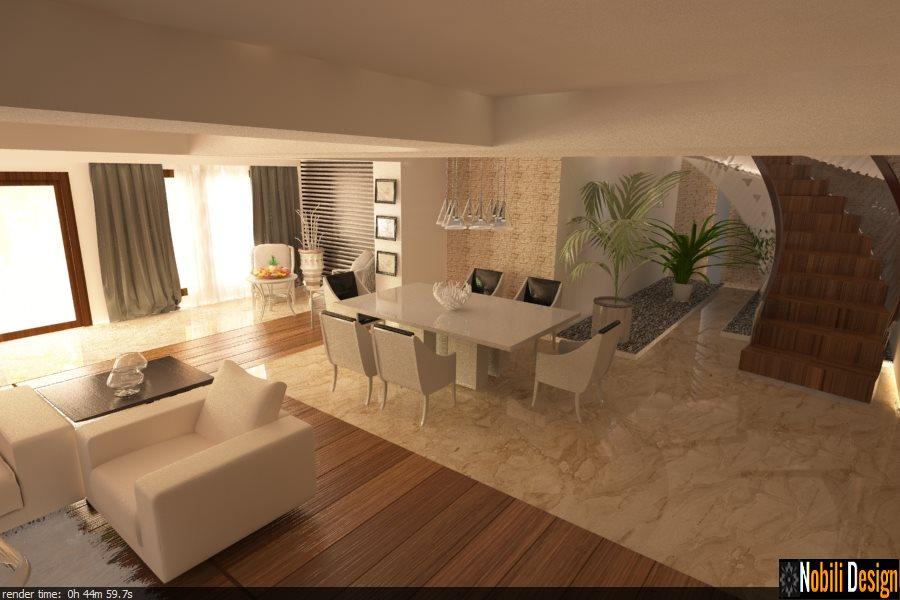 Design interior casa moderna bucuresti for Casas modernas 2016 interior