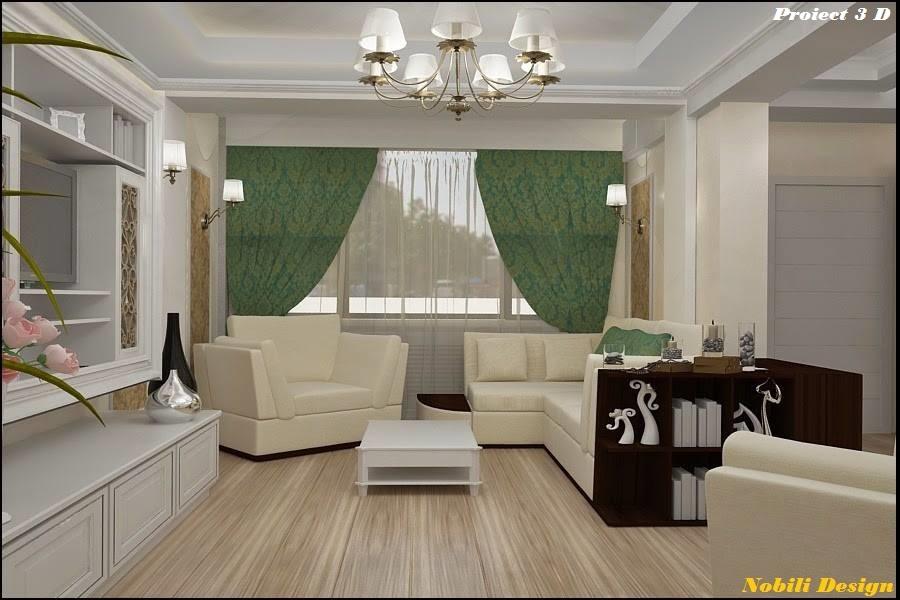 design interior casa stil clasic 3 D