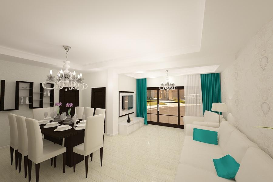 Design interior case vile de lux bucuresti nobili for Design interior case