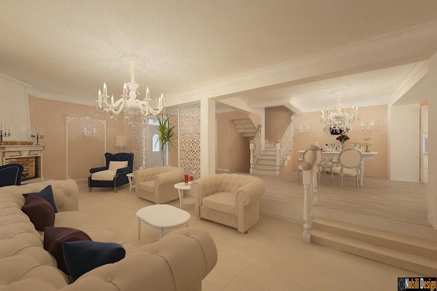 Design interior casa clasica targu mures nobili interior for Casa interior design