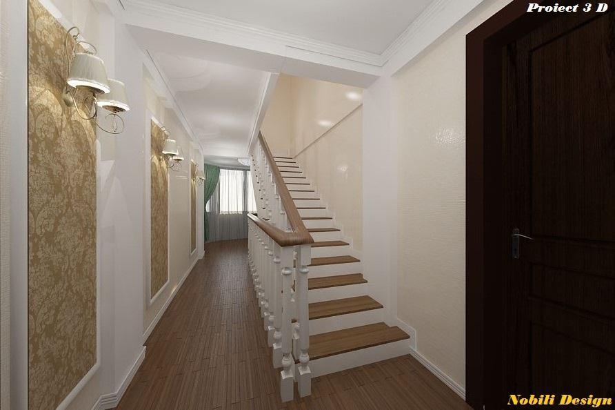 design interior clasic hol 3 D
