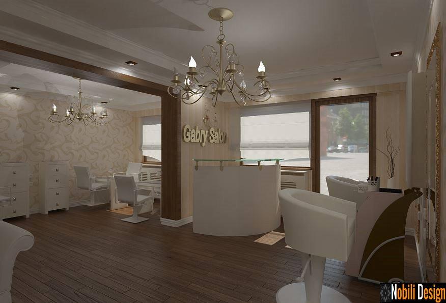 design interior coafor frizerie in constanta