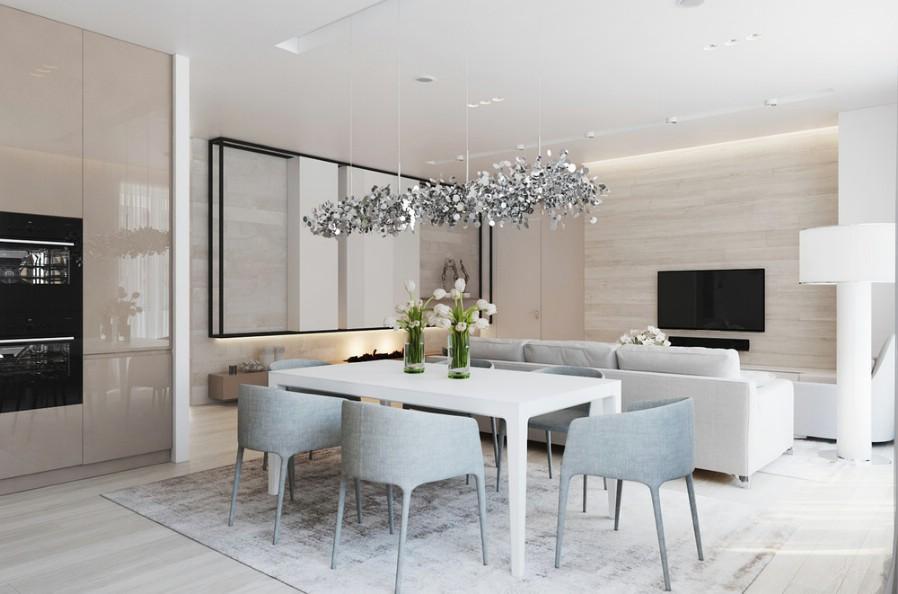 Design interior dining case moderne - constanta 2017.