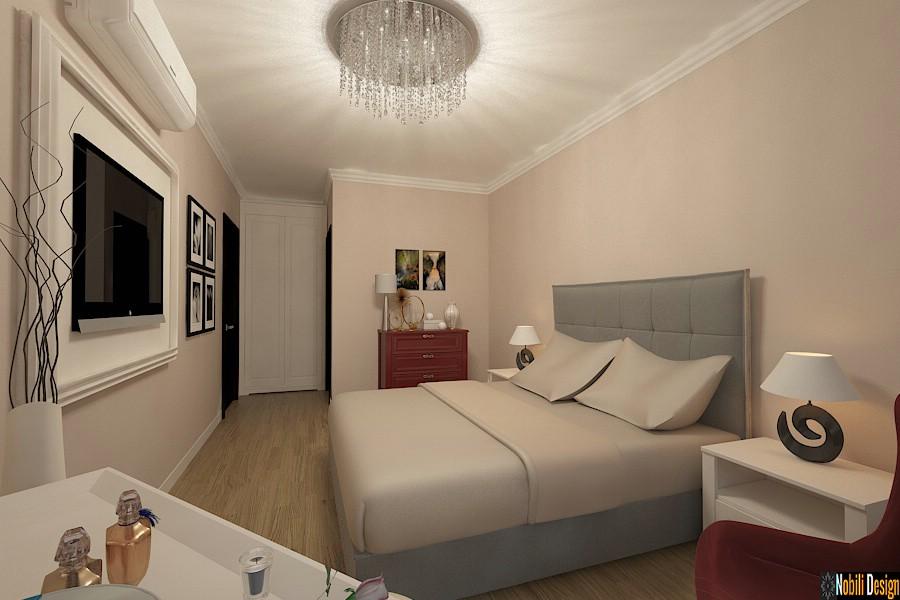 Design - interior - dormitor - apartament - bucuresti - centru vechi.