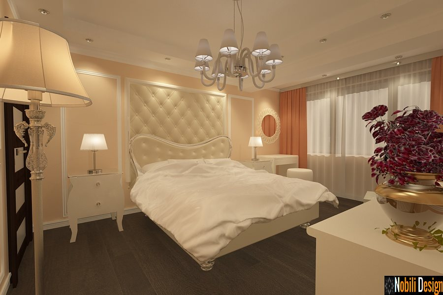 Design - interior - dormitor - apartament - bucuresti.