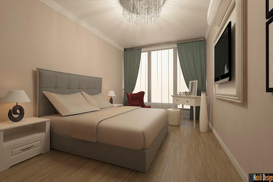 Design - interior - dormitor - apartament - clasic - bucuresti.