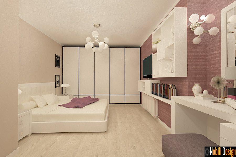 design interior dormitor apartament modern