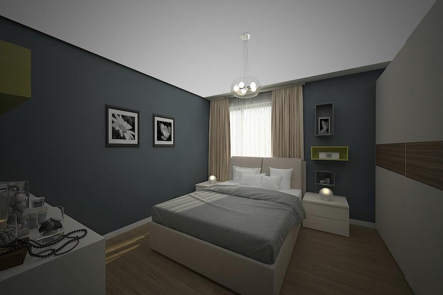 Design interior dormitor braila.
