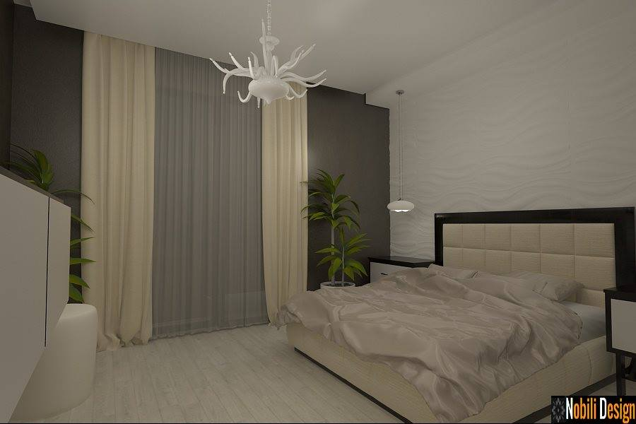 Design - interior - dormitor - casa - bucuresti | Design interior case moderne