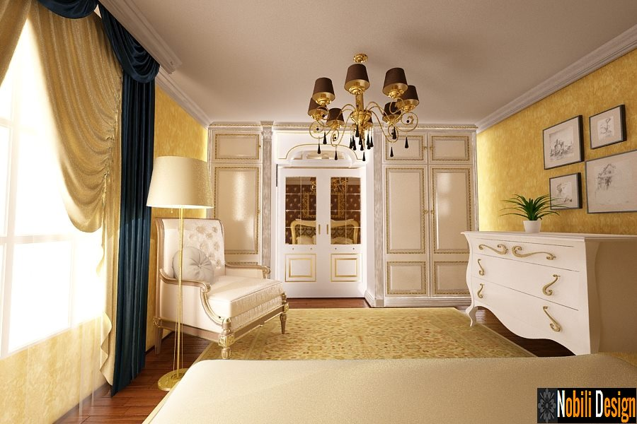 design interior dormitor casa clasica in bucuresti