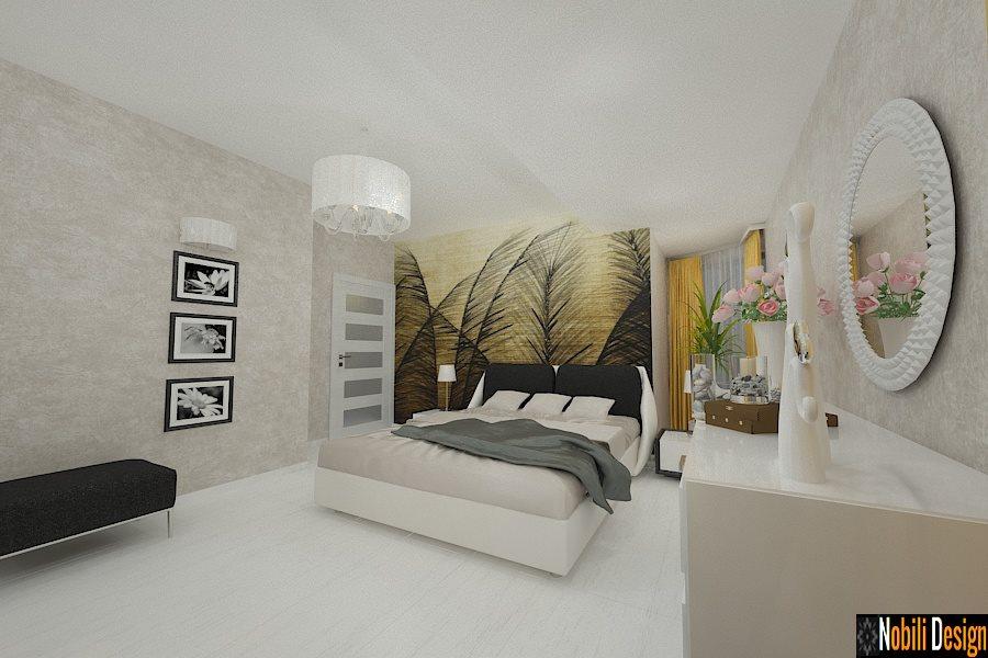 Design - interior - dormitor - casa - constanta - 2017. Firma - amenajari - interioare - vile - in - Constanta.