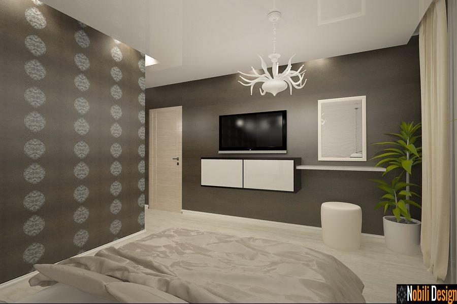Design - interior - dormitor - casa - moderna - Constanta - Compozitorilor