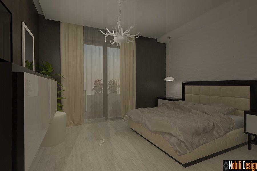 Design - interior - dormitor - casa - moderna - Brasov - Harman - Romania.