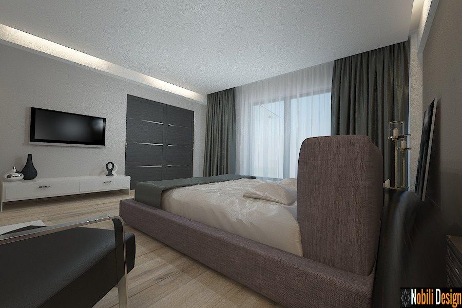 design interior dormitor casa moderna galati